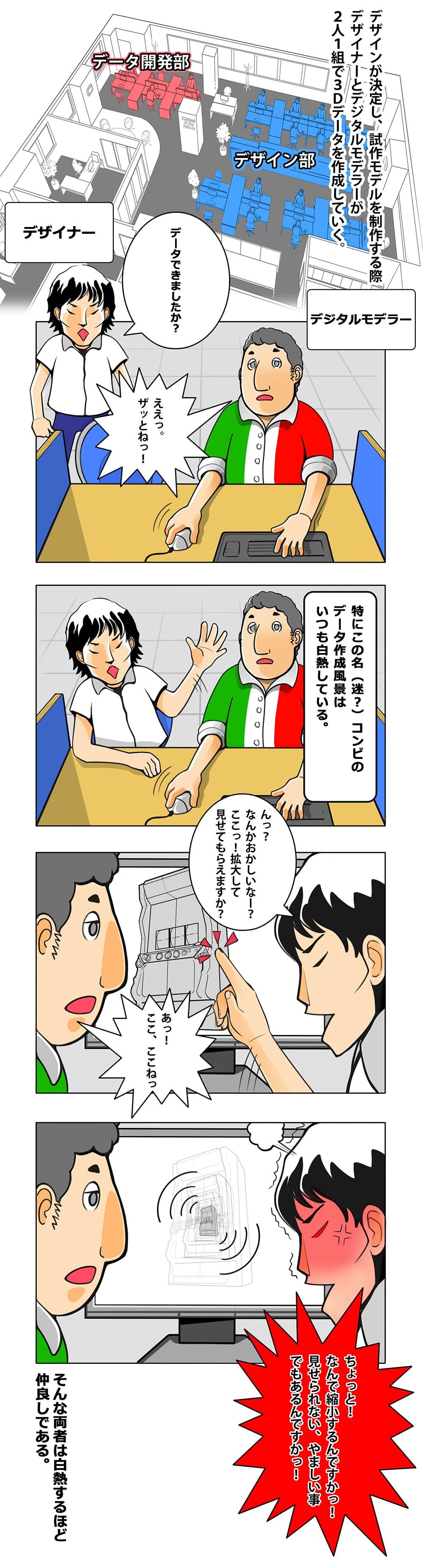 愉快な仲間たち3_デザイナーvsデジタルモデラー